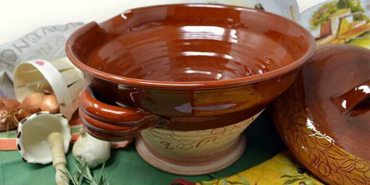 Vallauris Pottery French Riviera Tian Dish