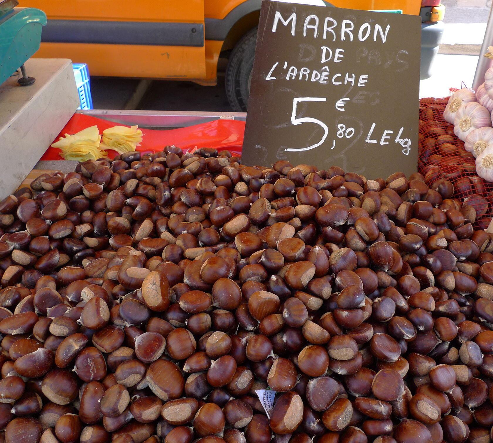 Chestnuts Provence Markets