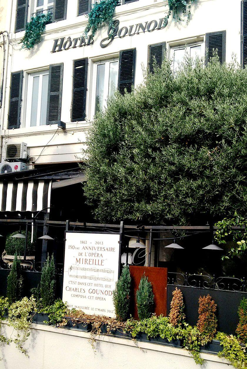 Hotel Gounod boasts a famous past St Rémy History Lessons