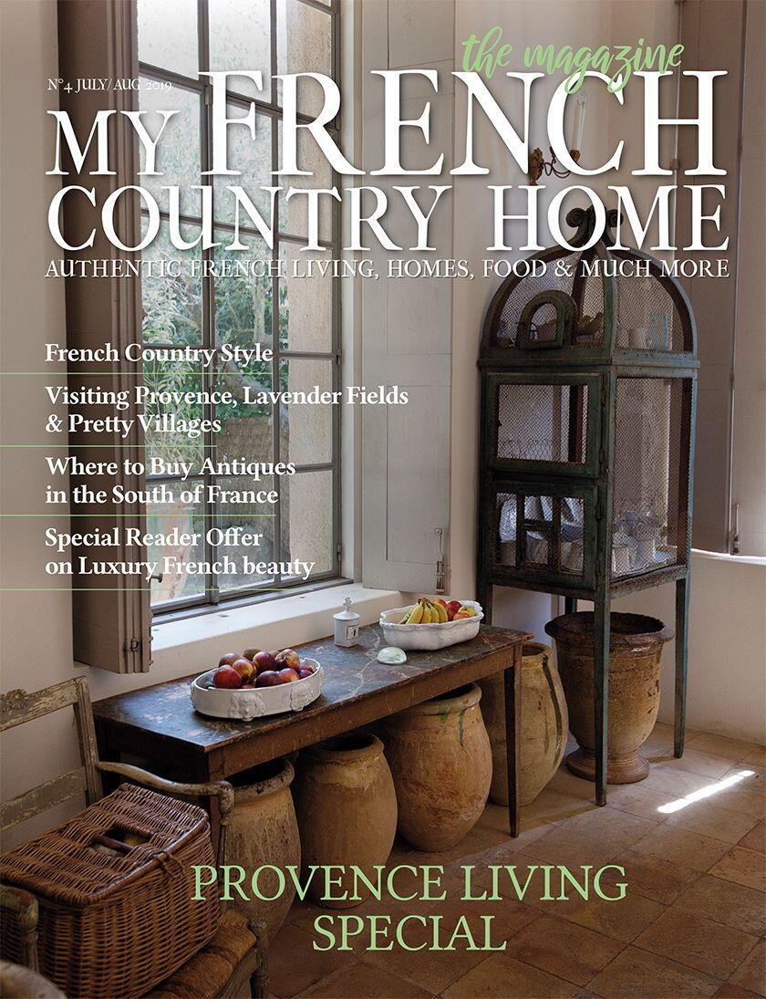 JULY-AUG-Cover My French Country Home Magazine