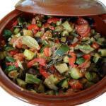 Provencal Ratatouille Recipe Traditional Terracotta Casserole Pottery