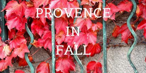 Provence Fall Festivals 2019