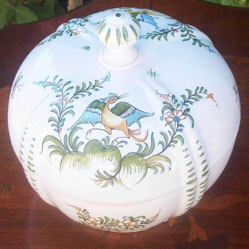 Discovering Provencal Pottery Jewelry Box Faience Moustiers Saint Marie