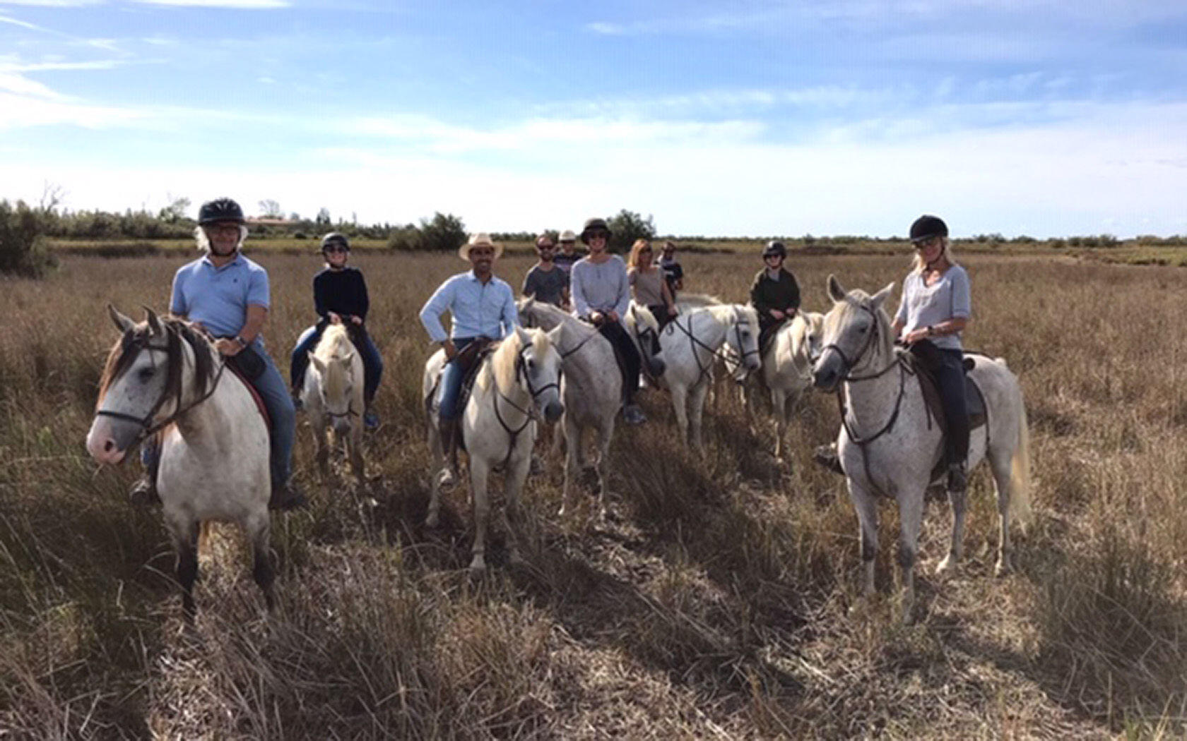 Camargue Horseback Riding la Belle Vie Yoga