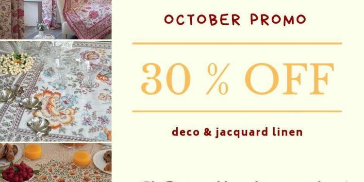 October Sale Jacquard Fabrics