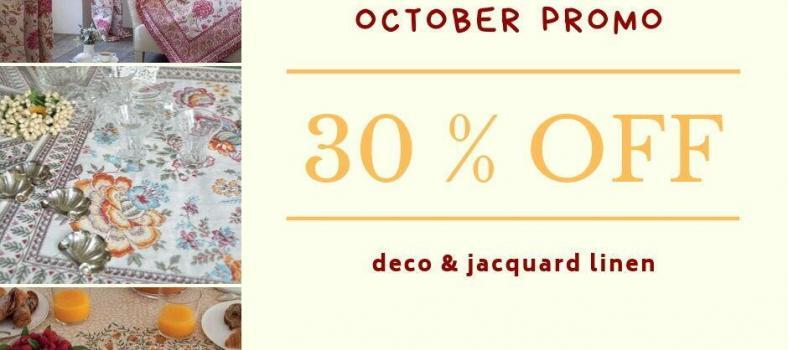 October Sale Jacquard Fabrics