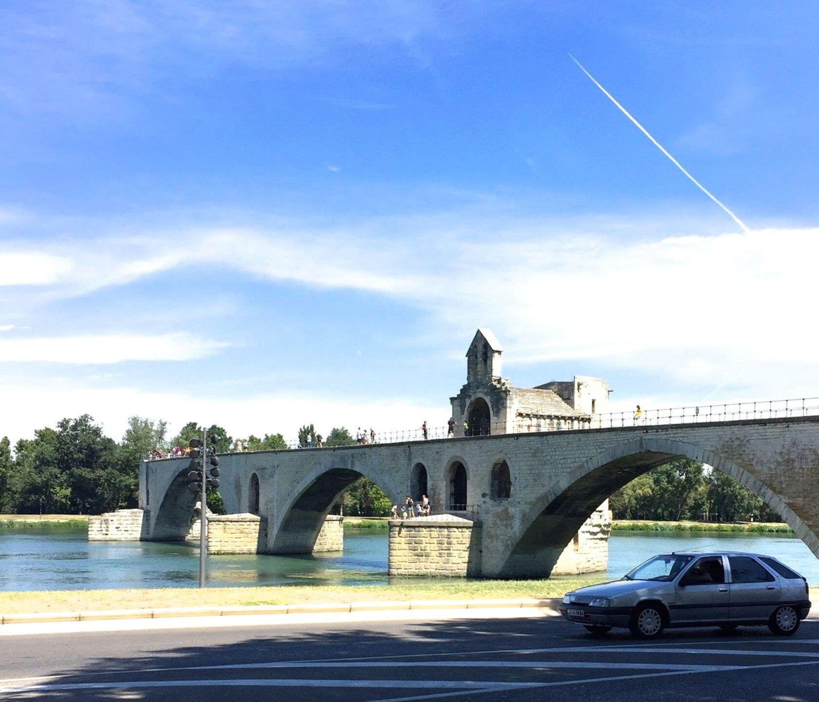 Favourite Places Visit Provence Avignon Pont d'Avignon
