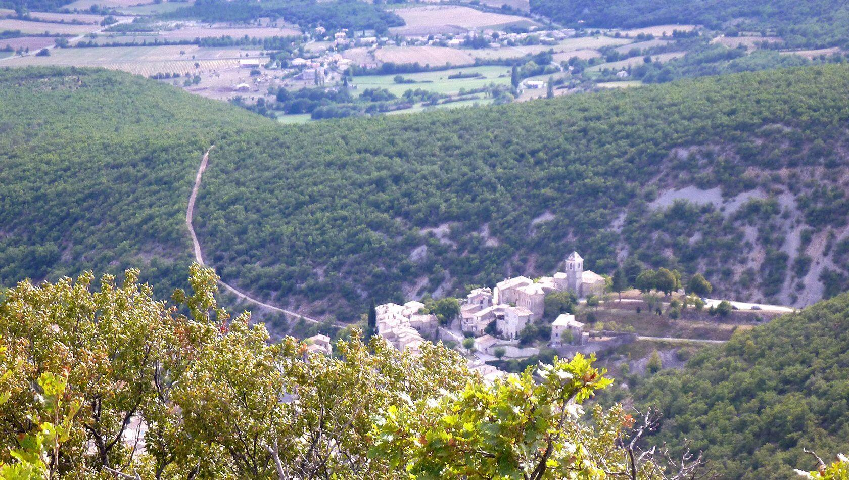 Banon Village Views