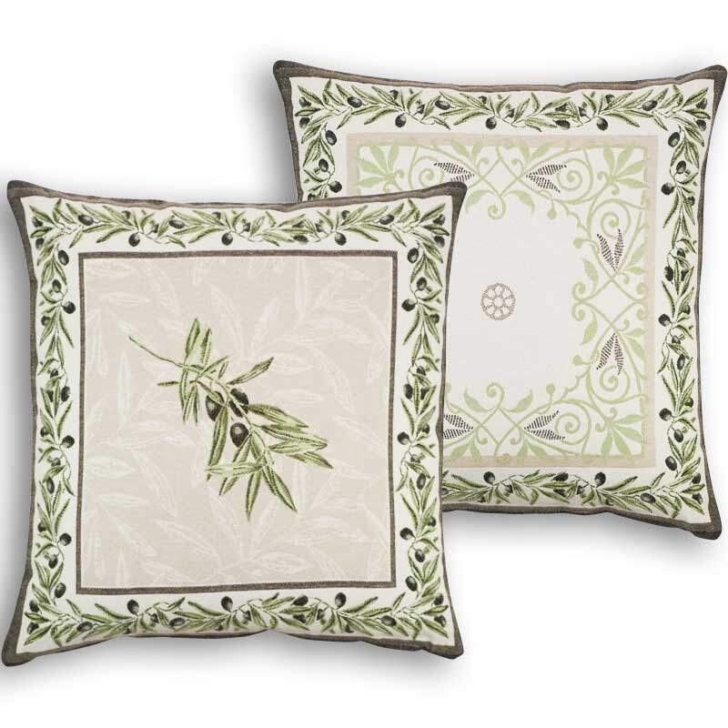 Provencal cushions Jacquard Fabrics Designs