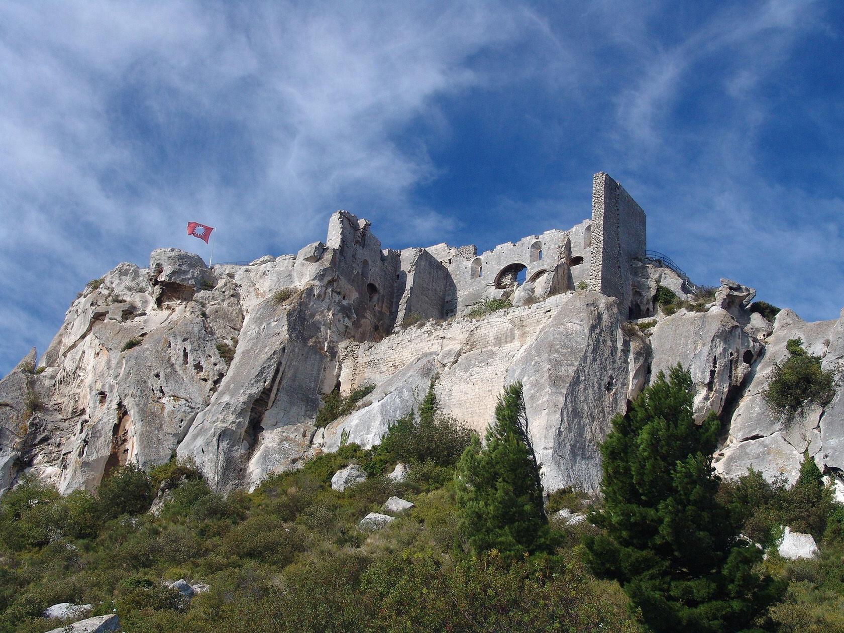Les Baux de Provence Château des Baux Pixabay