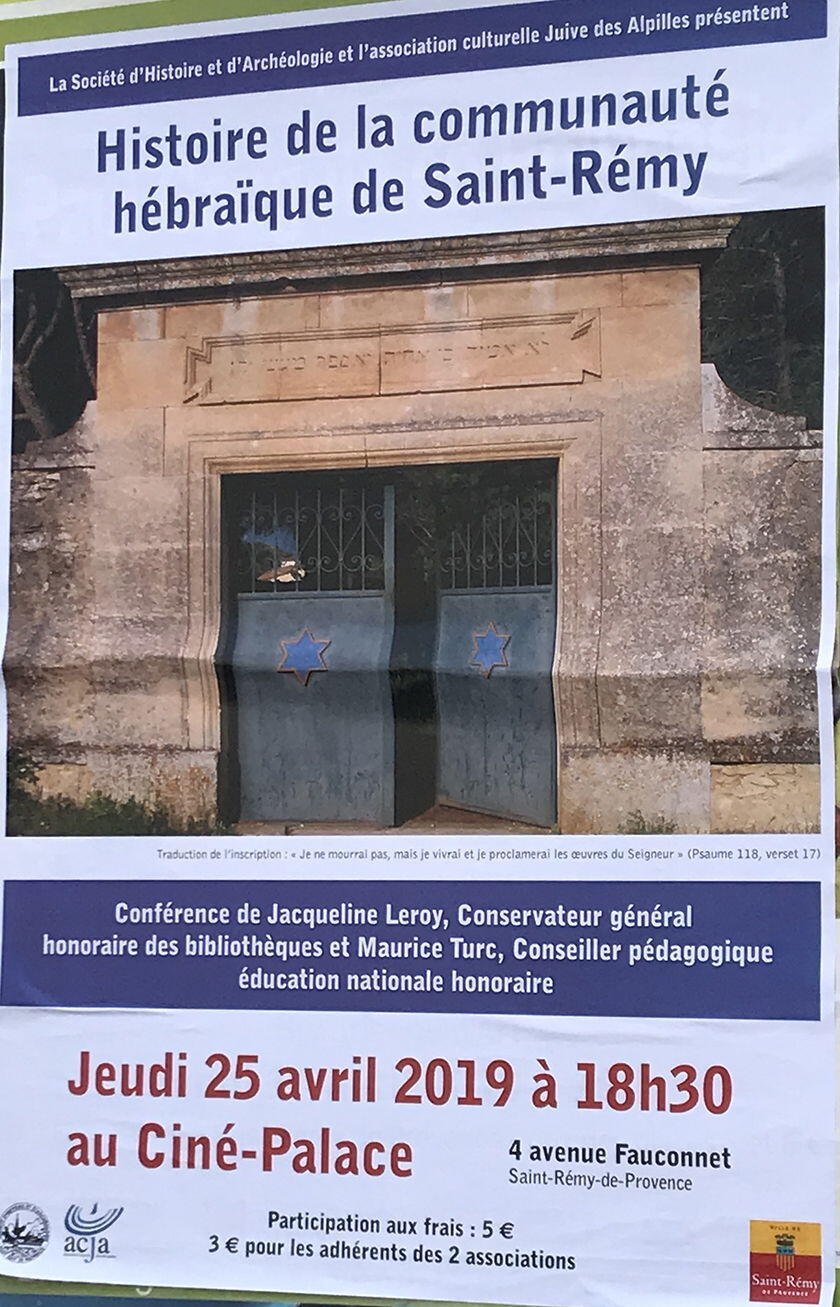 Living Provence Local Culture St Remy Associations poster