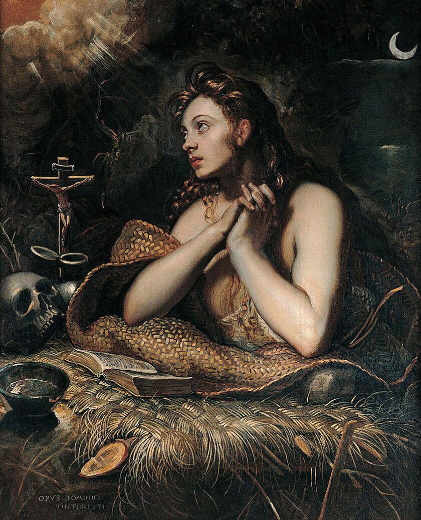 Mary Magdalene Tintoretto public domain
