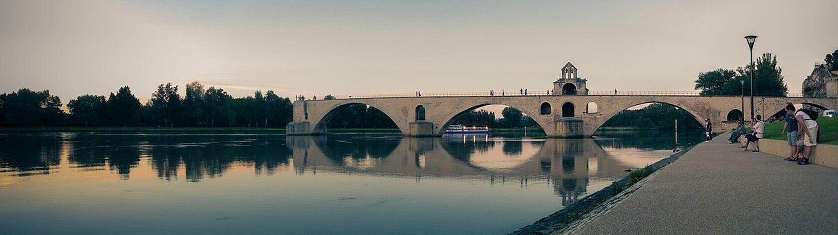 Pont d'Avignon Rhône River Pixabay