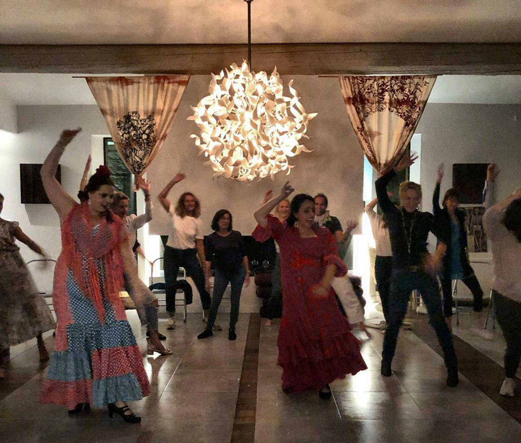 Yoga Provence Belle Vie Flamenco Dance Party