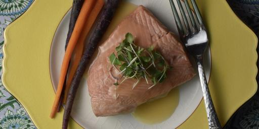 Easy Poached Arctic Char