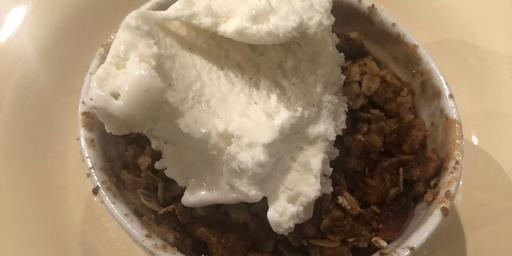 Easy Apple Crumble Dessert
