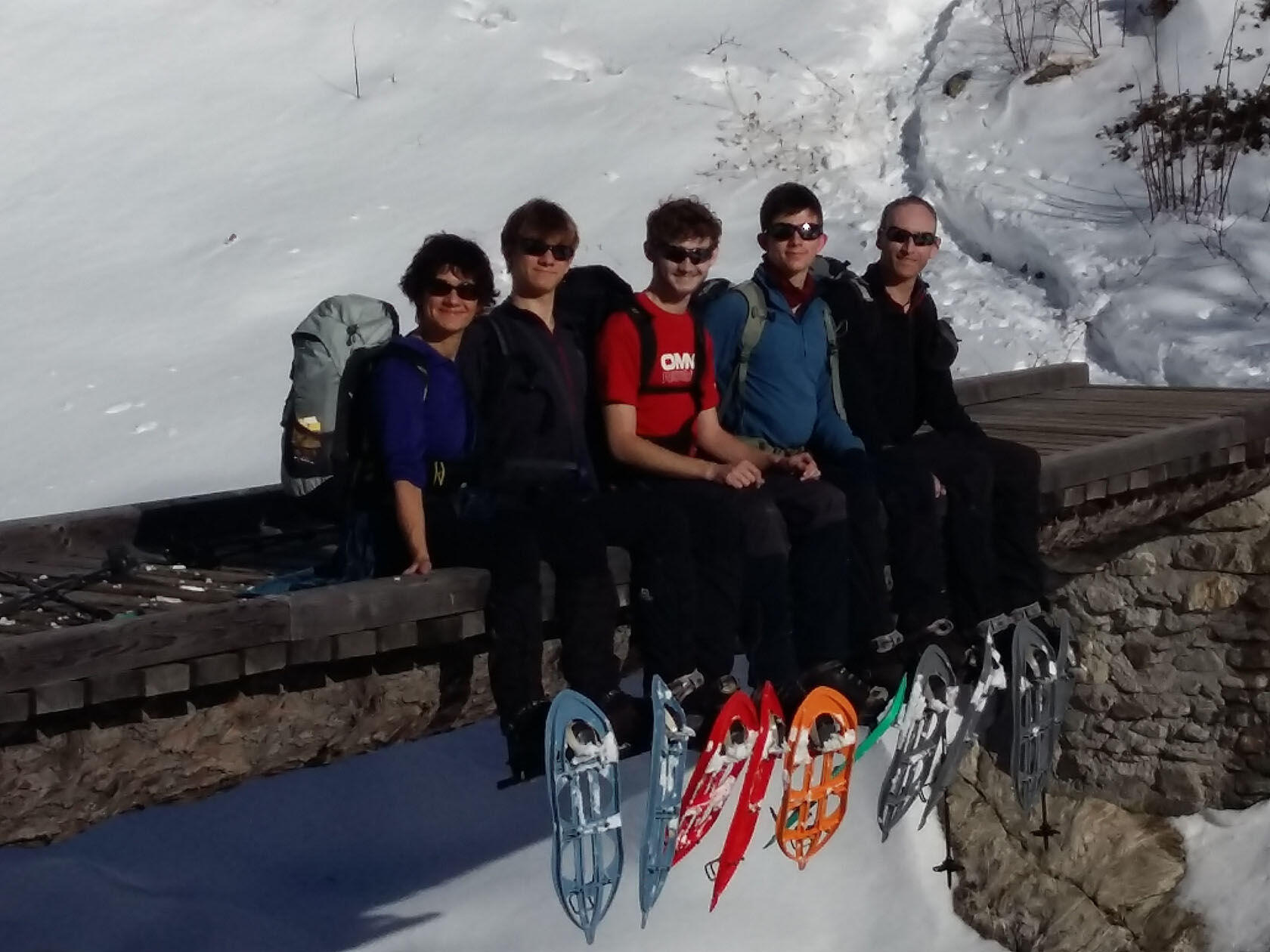 Family-Friendly Snowshoe Mercantour Guided Tours Provence Holidays
