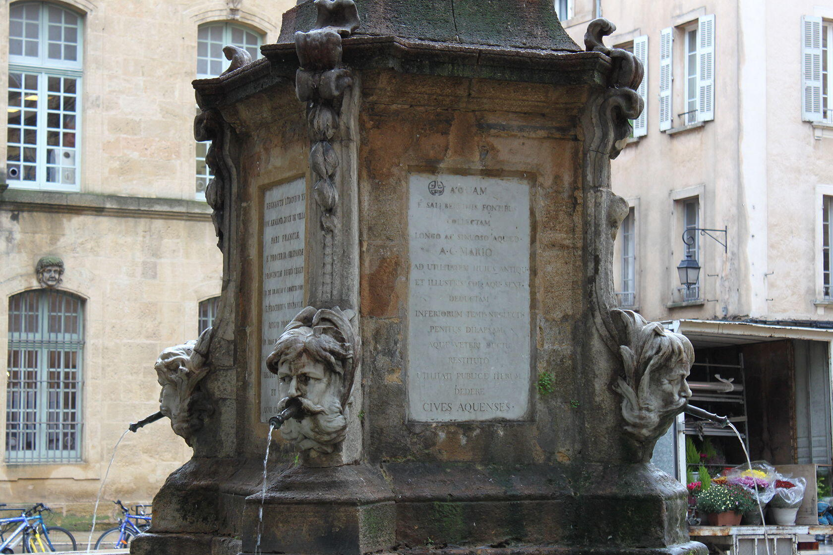 Stone Aix En Provence take a walking tour the fountains of aix-en-provence