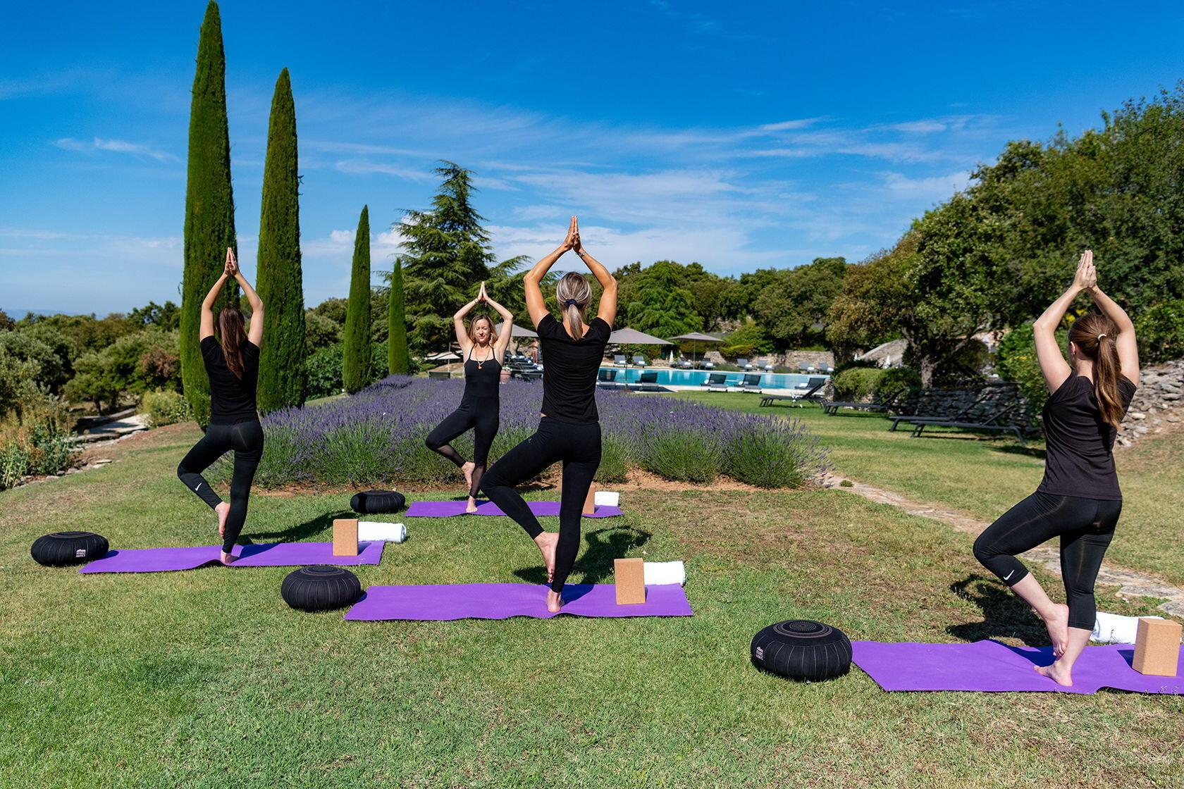 Hotel les Bories Spa Yoga Luberon