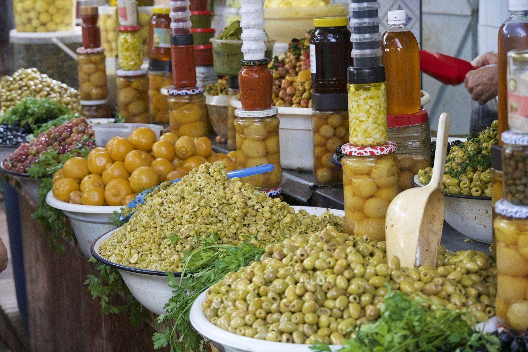 Olives Marrakesh Culinary Travel Morocco