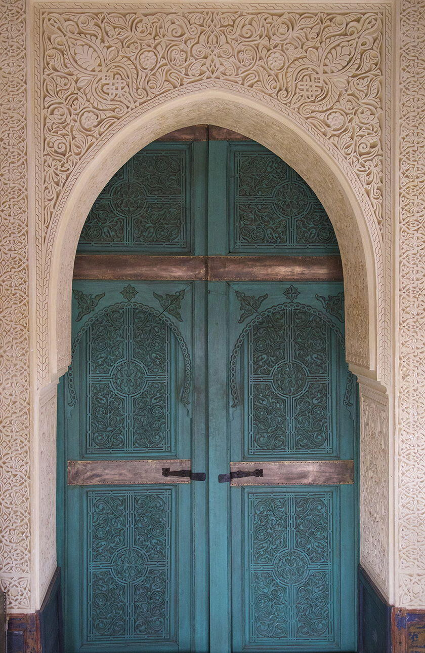 Marrakesh Doors Secret Garden