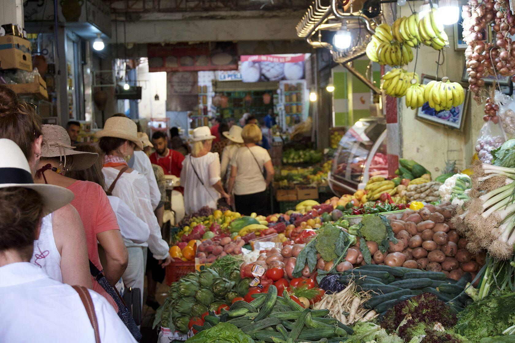 Marrakesh Local Food Market