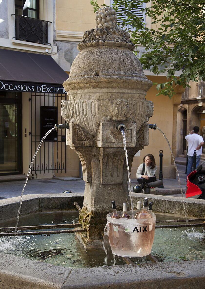 Fontaine Trois Ormeaux Aix-en Provence