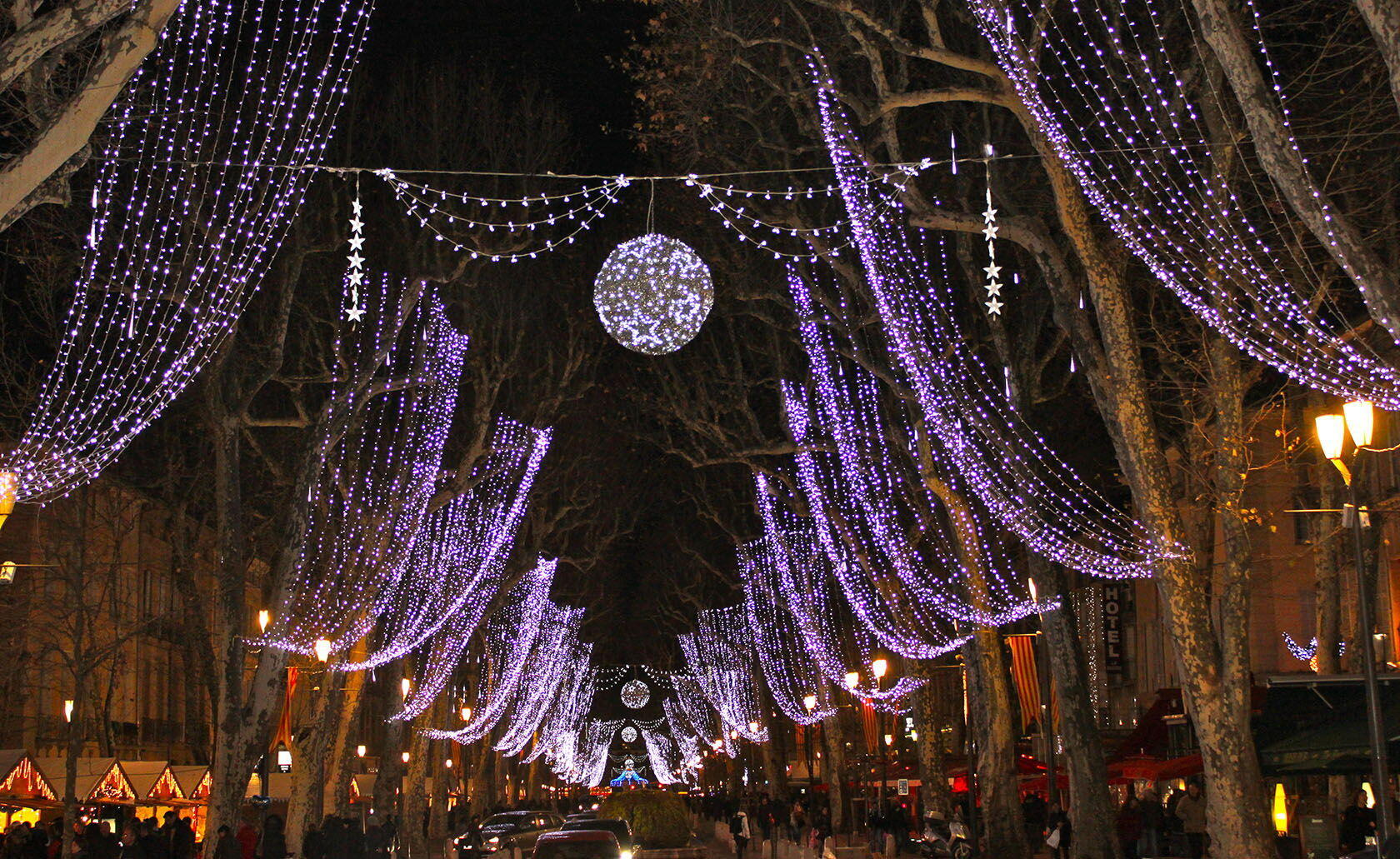 Aix-en-Provence Cours Mirabeau Provence Holidays Christmas Tour Culinary Travel