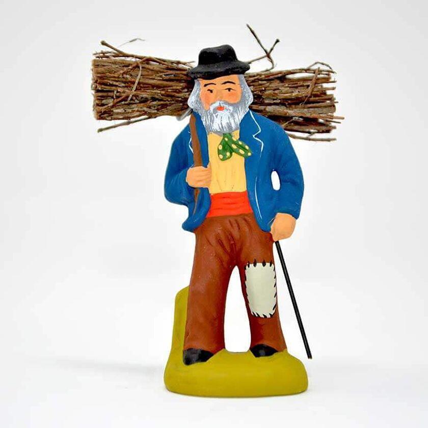 Santons Christmas Provence Firewood Collector