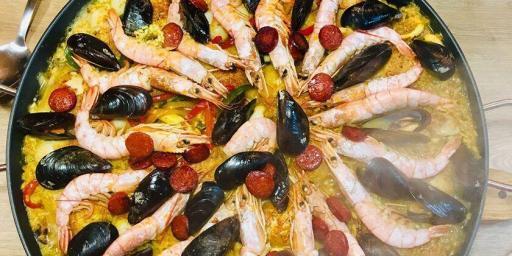 Spanish Paella Provence Finished