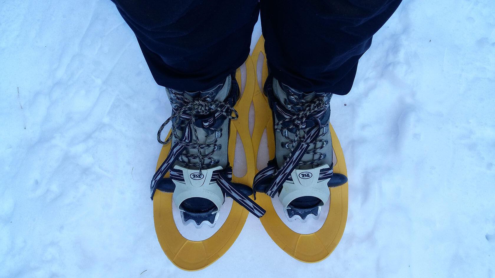 Winter Provence Snowshoe Mercantour Equipment