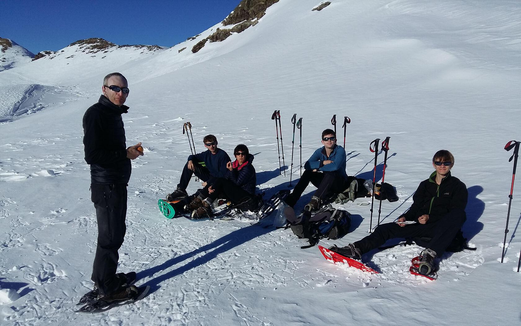Winter Provence Snowshoe Mercantour