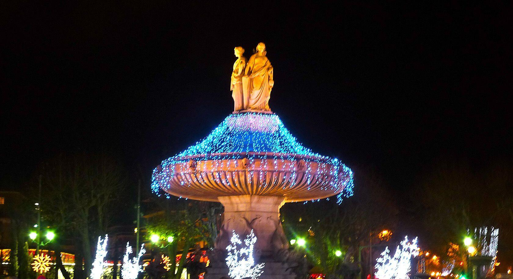 Winter in Provence La Rotonde Christmas Aix-en-Provence