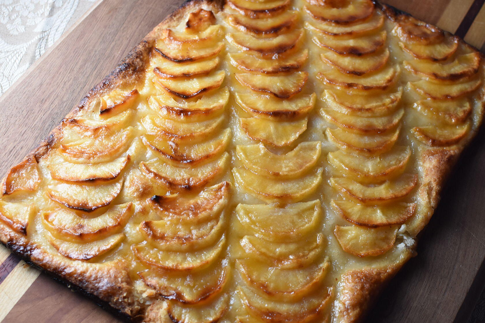 Recipe For A Classic French Apple Tart Perfectly Provence