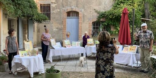 Painting Workshops Provence Tessa Baker