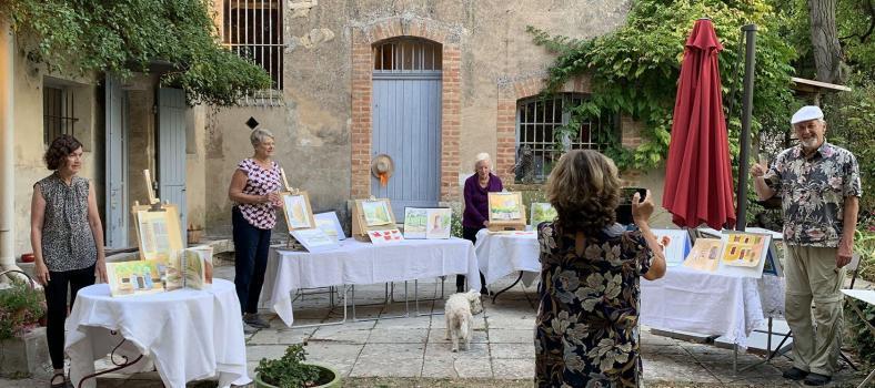 Painting Workshops Provence Tessa Baker