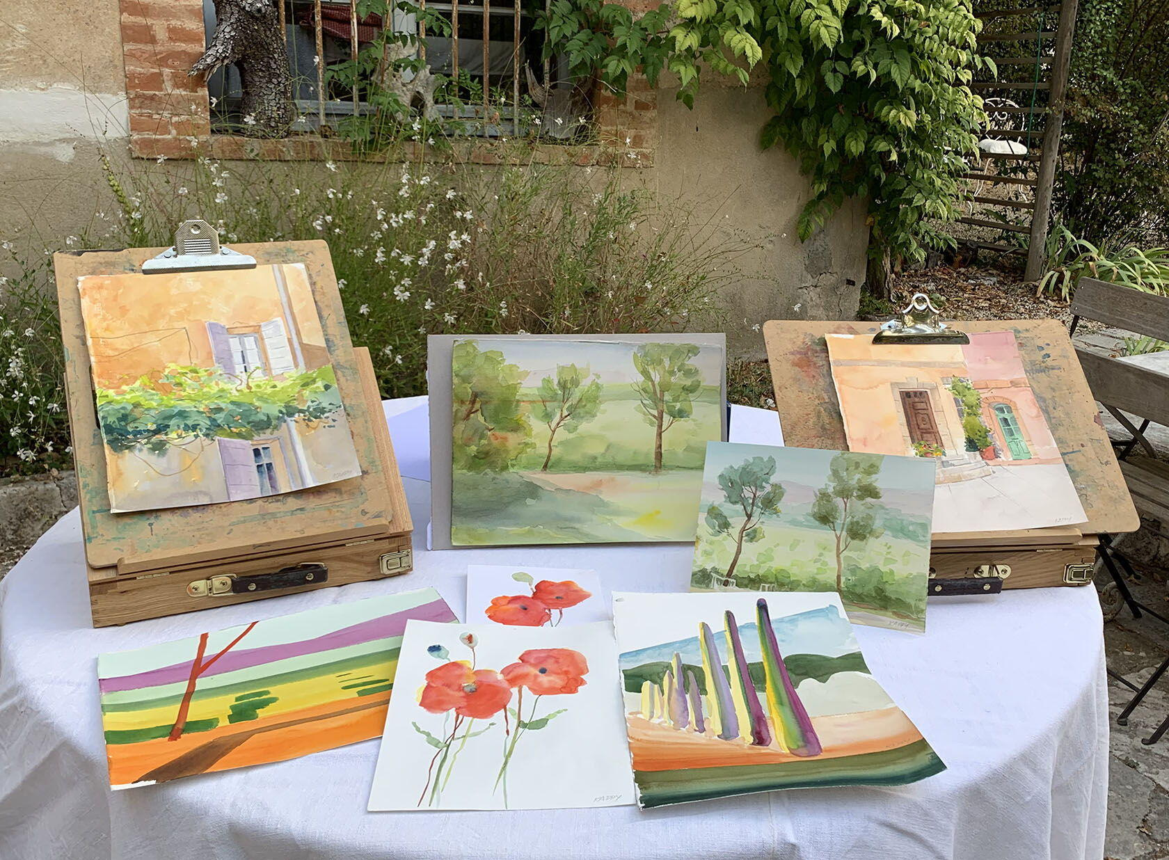 Painting Workshops Provence