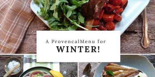 Winter Dinner Party Menu 2020
