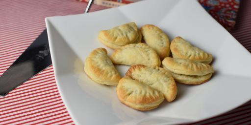 Anchovy Puff Pastry Bites