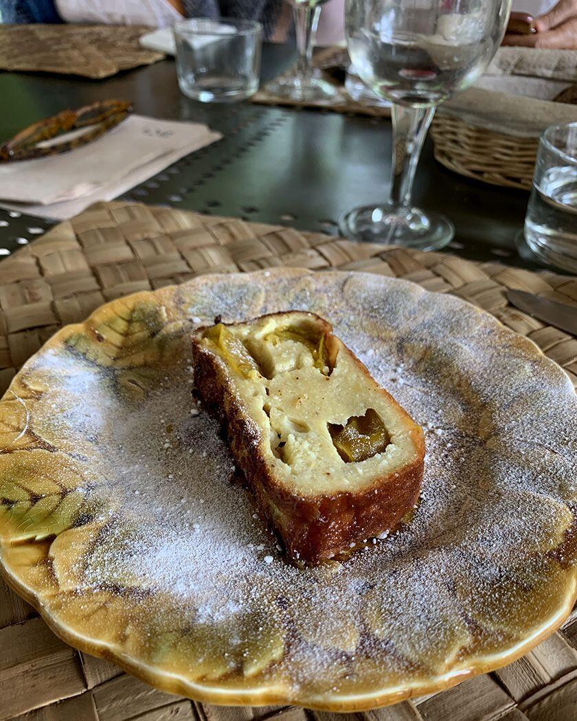 Clafoutis Reine Claude Plums Provence Gourmet
