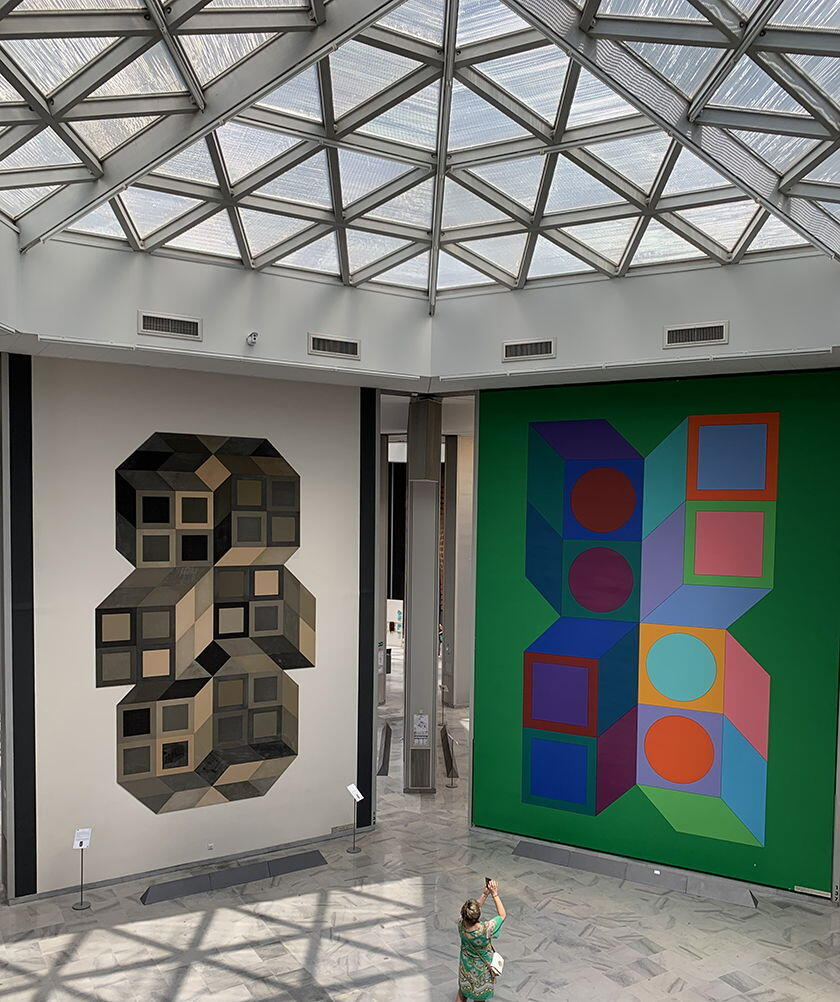 Fondation Vasarely Aix-en-Provence Huge Works