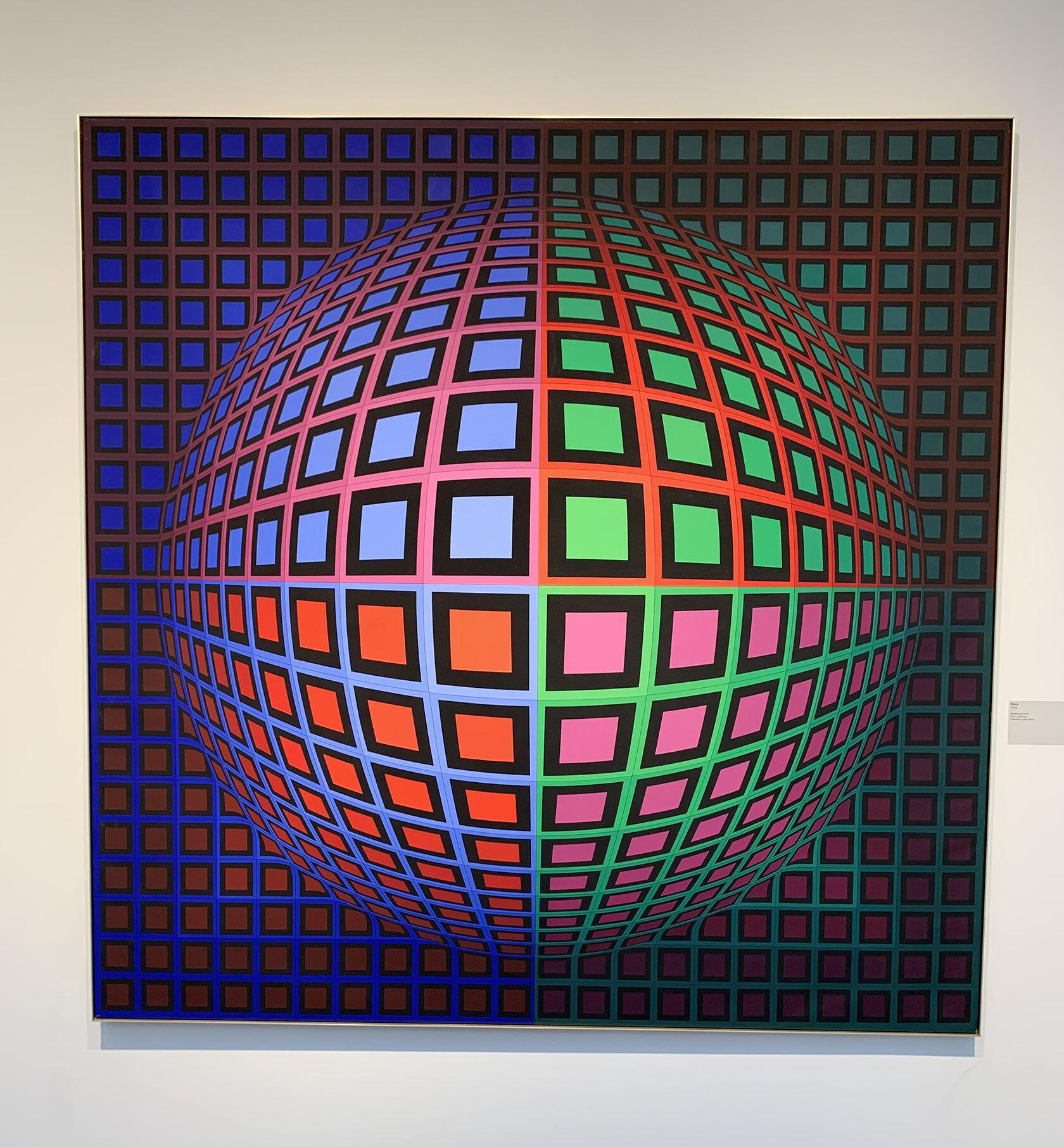 Fondation Vasarely Aix-en-Provence Op Art