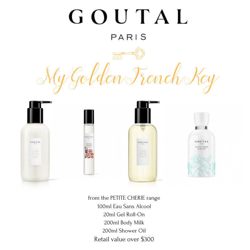 My Golden French Key with Annick Goutal