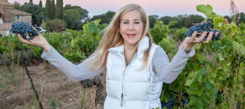 Puyricard Provence Vineyards Tasha at Chateau du Seuil PUYRICARD