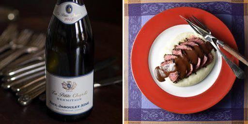 Rhône Valley Syrah Wine Steak Food Wine Pairing