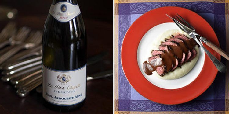 Rhône Valley Syrah Wine Steak Food Wine Pairing