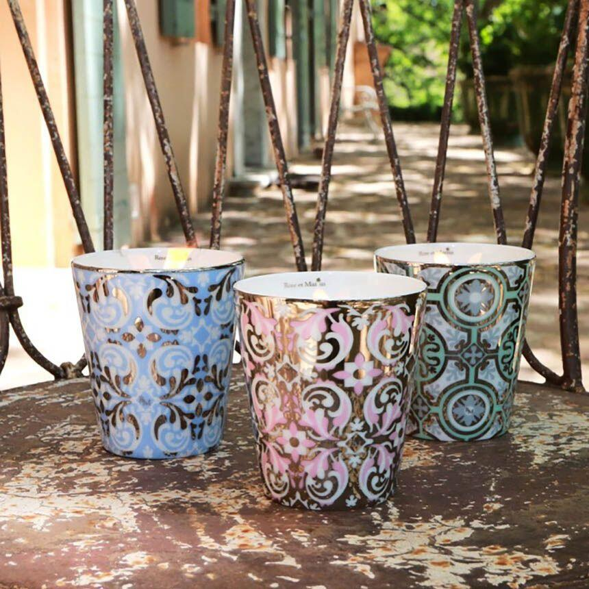 Provence Rose et Marius Candles Ceramics