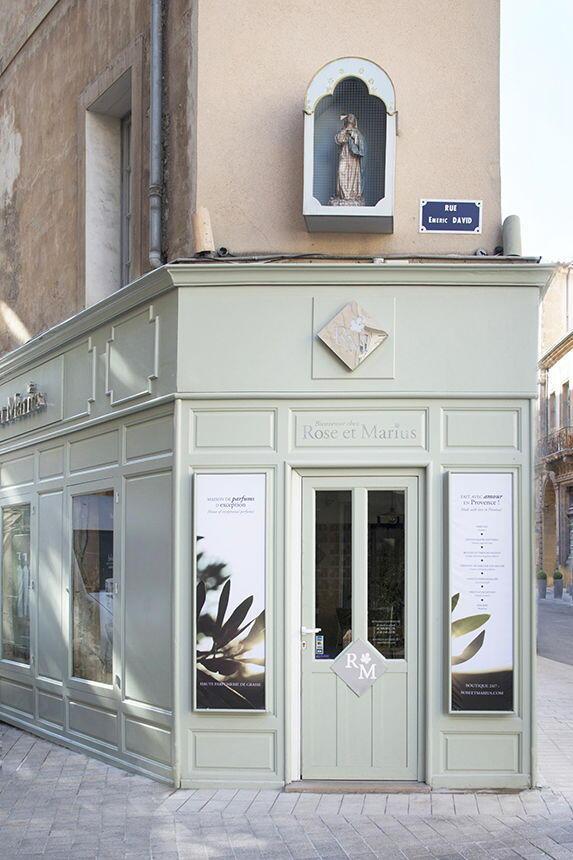 Provence Rose et Marius Storefront Aix-en-Provence