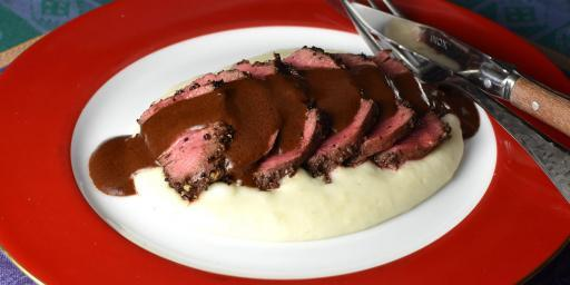 Steak Chocolat Sauce Recipe Steak au Chocolate