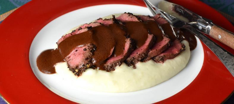 Steak Chocolat Sauce Recipe Steak au Chocolate